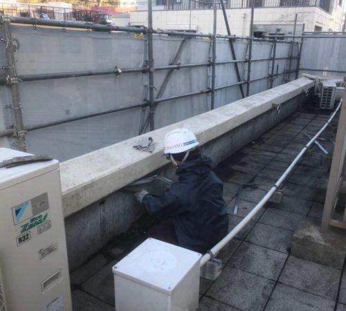 屋上防水撤去工事【東京都品川区】