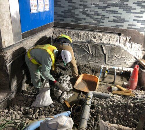 千葉ニュータウン中央駅トイレ改修工事【千葉県印西市】